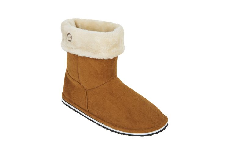 YOSSEM BROWN SLIPPERS