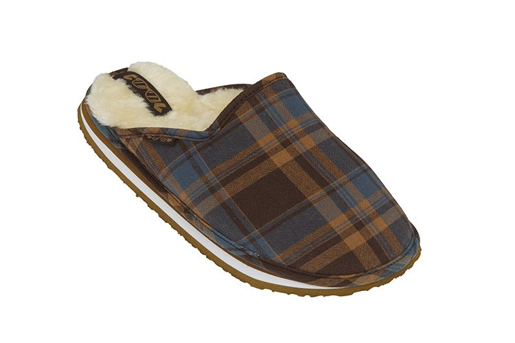 MEN SLIPPERS PLAID